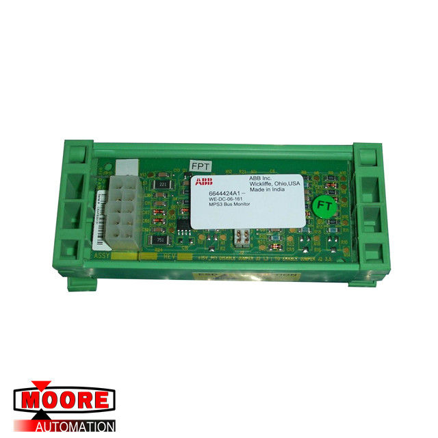 6644424A1 WE-DC-06-161 ABB Voltage Bus Monitor Assembly